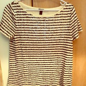 Jcrew sequined shirt